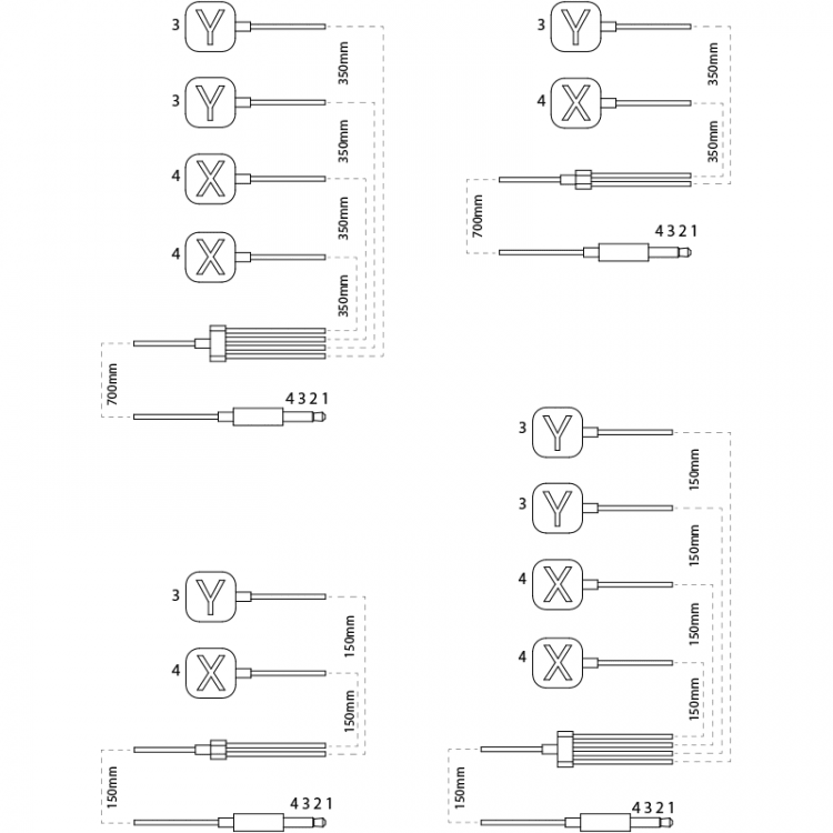 focus label wiring and length specifications
